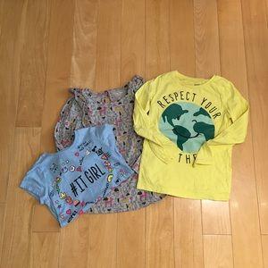 Girl's bundle tops